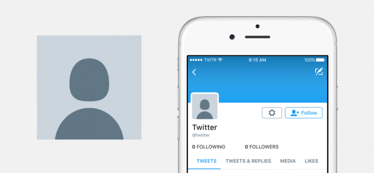 Nueva imagen de perfil predeterminada en Twitter seo noticias de proindex