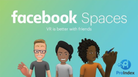 La red social en la realidad virtual Facebook Spaces seo blog proindex